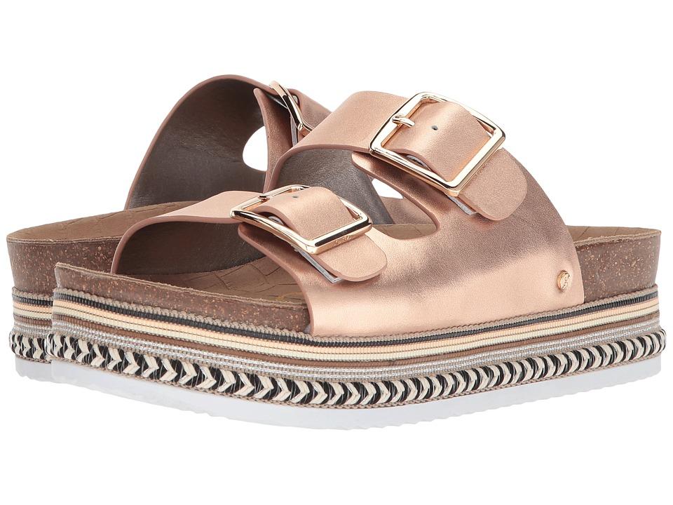 Sam Edelman - Oakley (Blush Gold Polished Metallic Leather) Womens Shoes