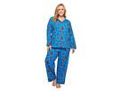 BedHead Plus Size Long Sleeve Classic Two-Piece Pajama Set