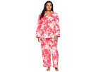 BedHead BedHead Plus Size Long Sleeve Classic Two-Piece Pajama Set