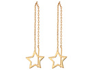Steve Madden Star Threader Post Earrings
