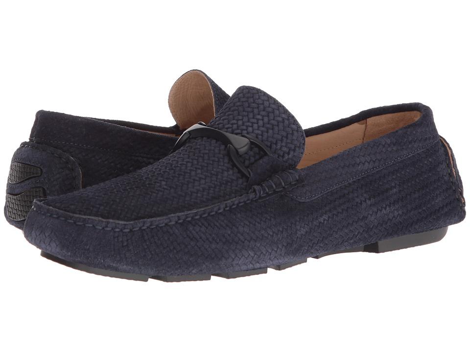 BUGATCHI - Amalfi Driver (Blue) Mens Shoes