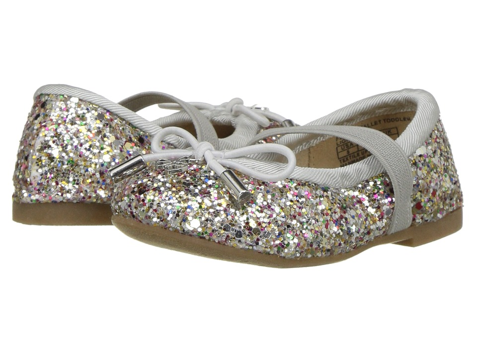 Sam Edelman Kids - Felicia (Toddler) (Silver Multi) Girls Shoes