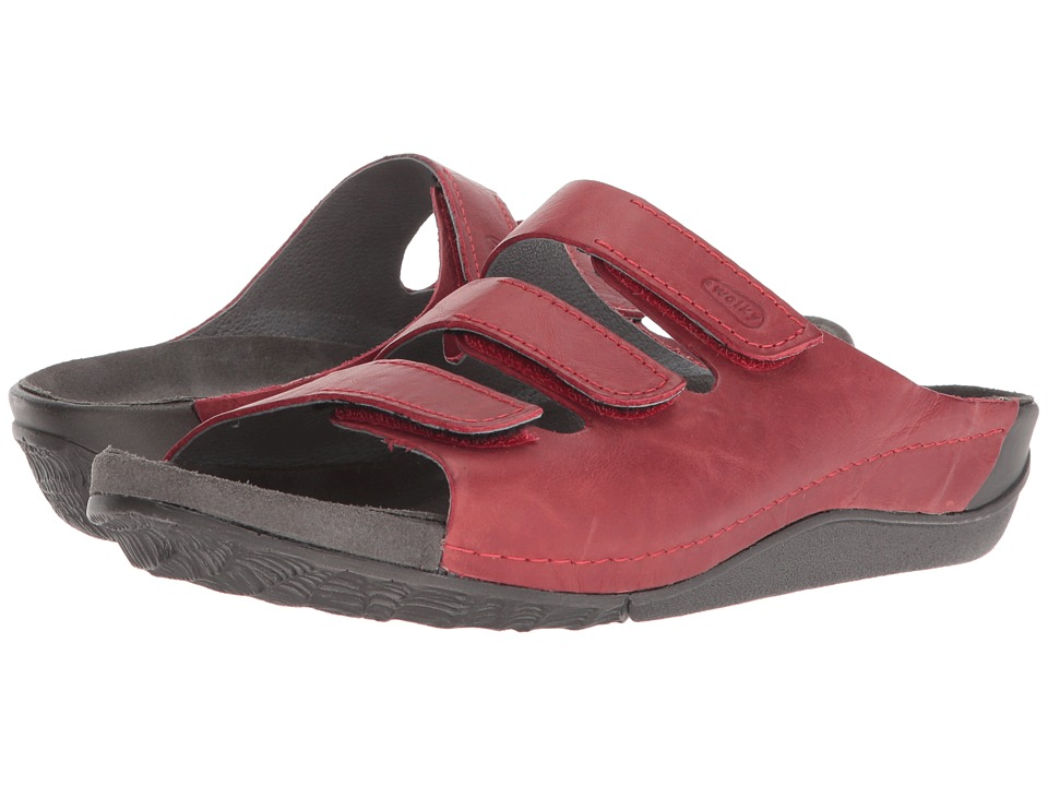 Wolky Nomad (Red Cartago Leather) Women