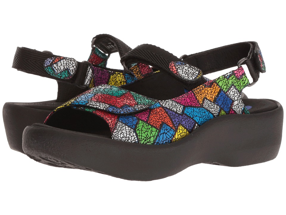 Wolky - Jewel (Multi Picasso Crash) Womens Sandals