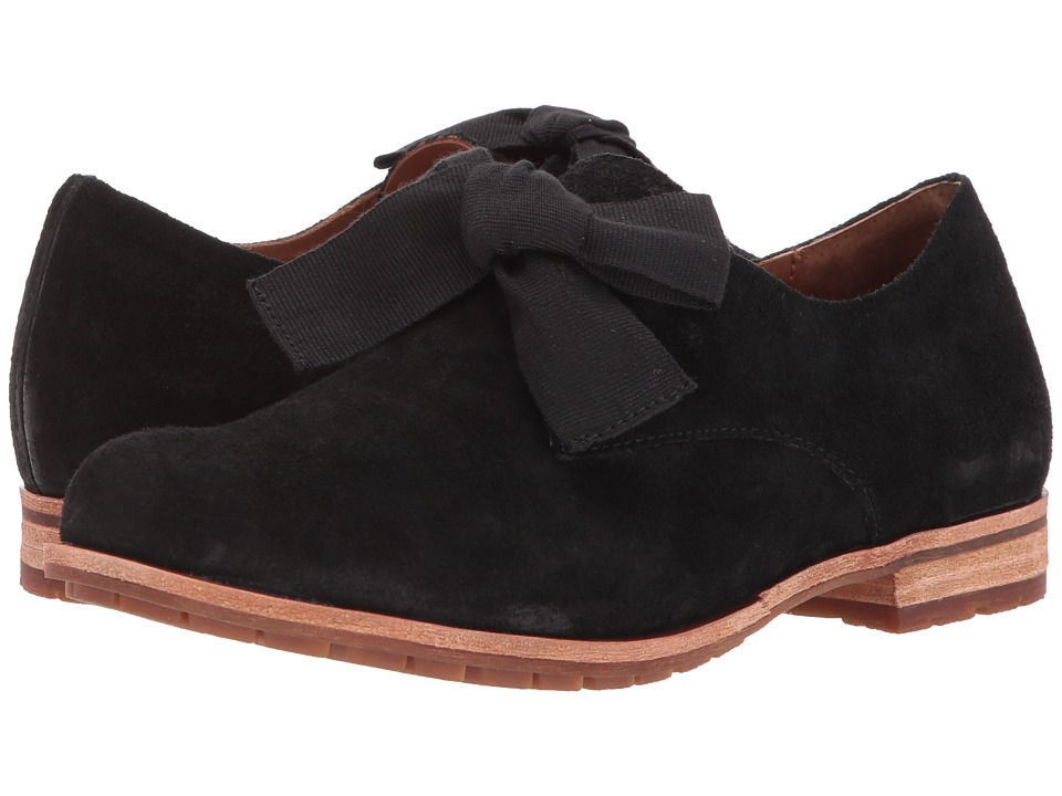 Kork-Ease Beryl (Black Suede) Women's Shoes