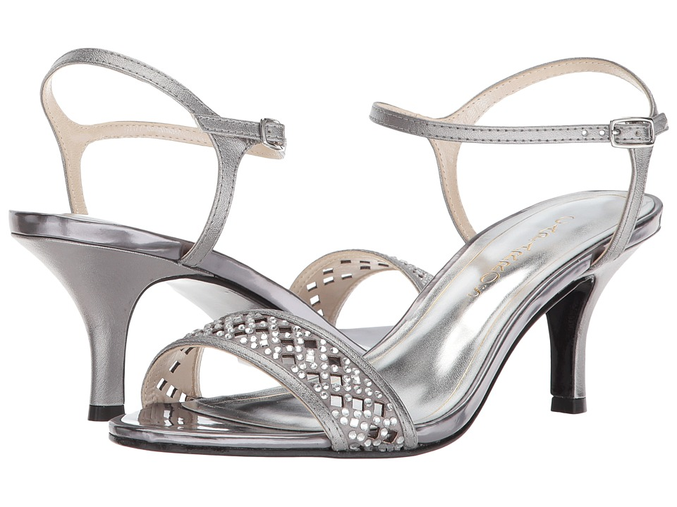 Caparros - Mitchell (Pewter Metallic) Womens 1-2 inch heel Shoes
