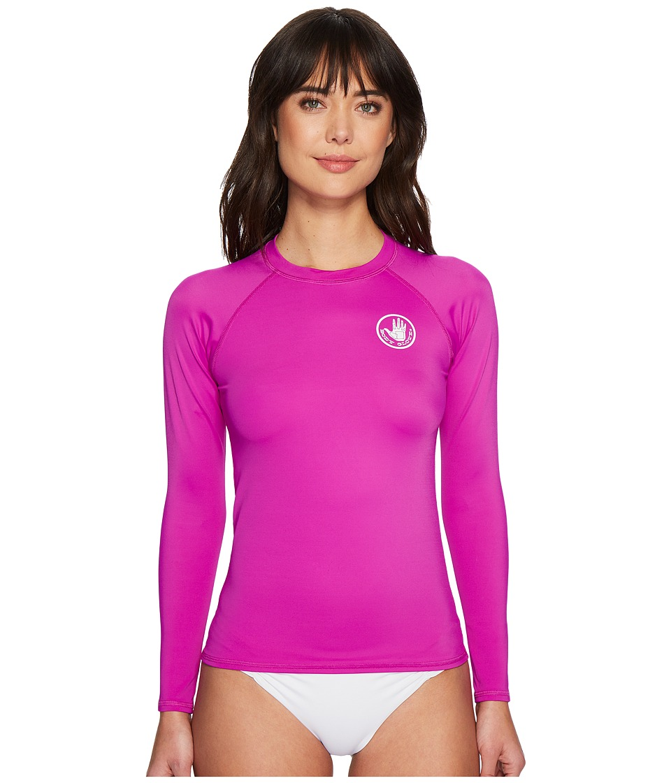 Body Glove - Smoothies Sleek Rashguard (Magnolia) Womens Swimwear
