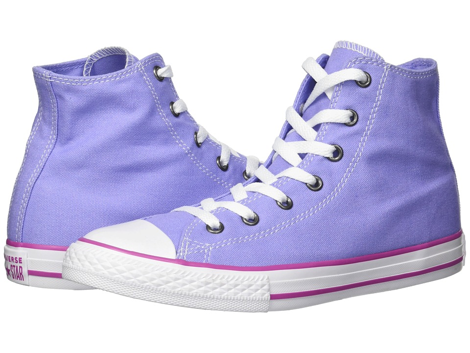 Converse Kids Chuck Taylor(r) All Star(r) Seasonal Hi (Little Kid/Big Kid) (Twilight Pulse/Hyper Magenta/White) Girls Shoes