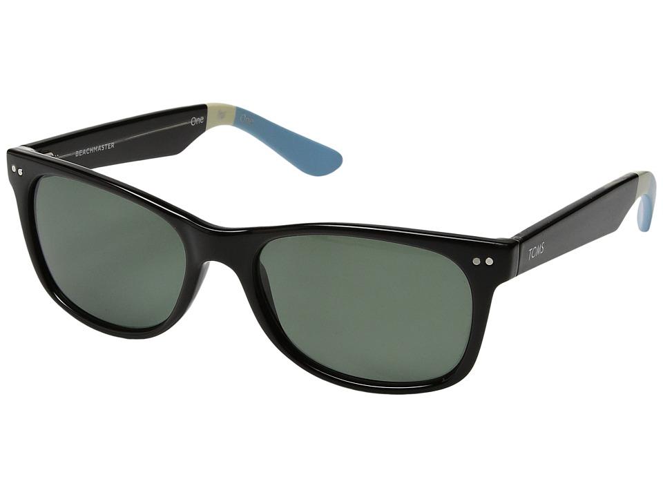TOMS - Beachmaster Polarized (Black 2) Fashion Sunglasses