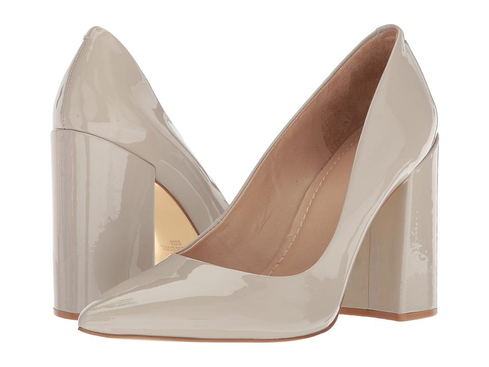 Massimo Matteo Block Heel Pump (Nude Patent) High Heels