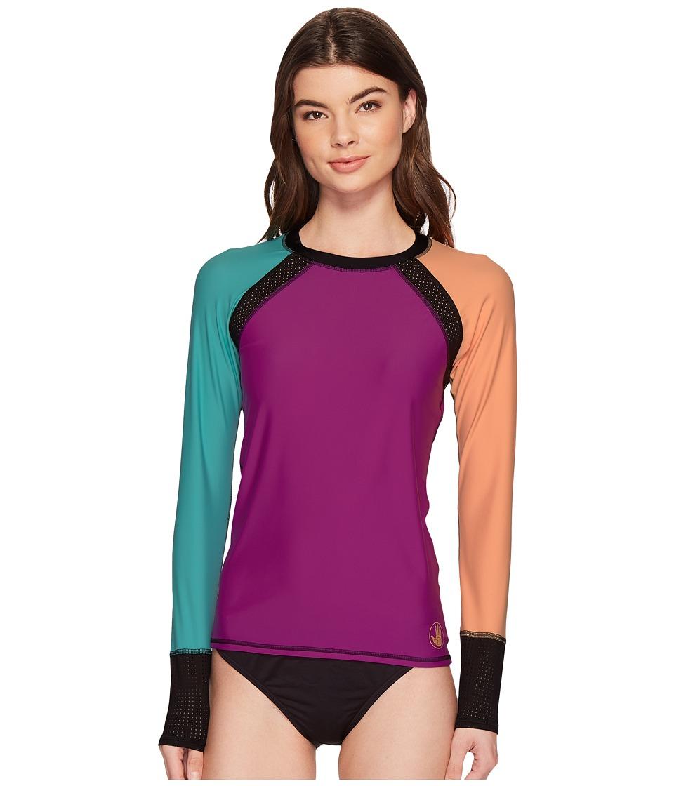 Body Glove - Bounce Surfs Up Rashguard (Magnolia) Womens Swimwear