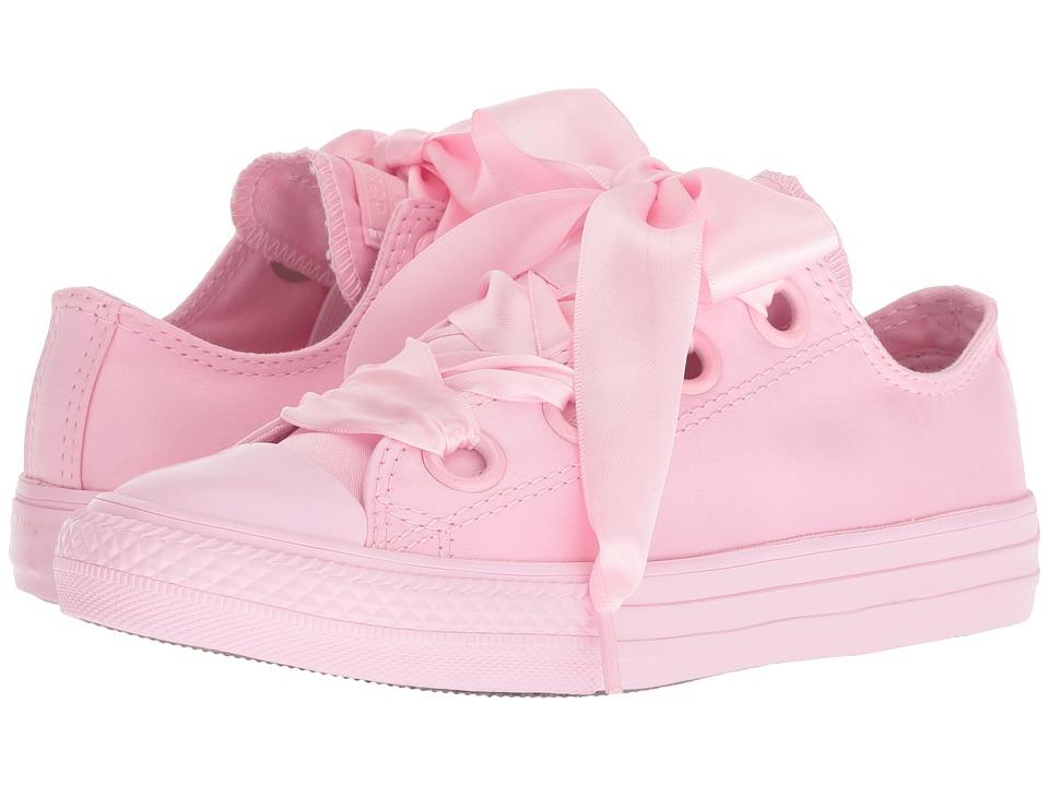 Converse Kids - Chuck Taylor(r) All Star(r) Mono Big Eyelets Ox (Little Kid/Big Kid) (Cherry Blossom/Cherry Blossom/Cherry Blossom) Girls Shoes