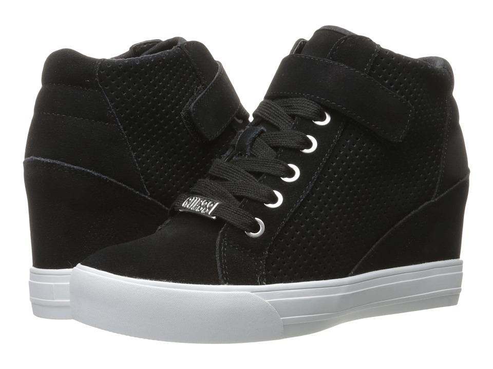 GUESS Decia (Black Suede) Women's Shoes