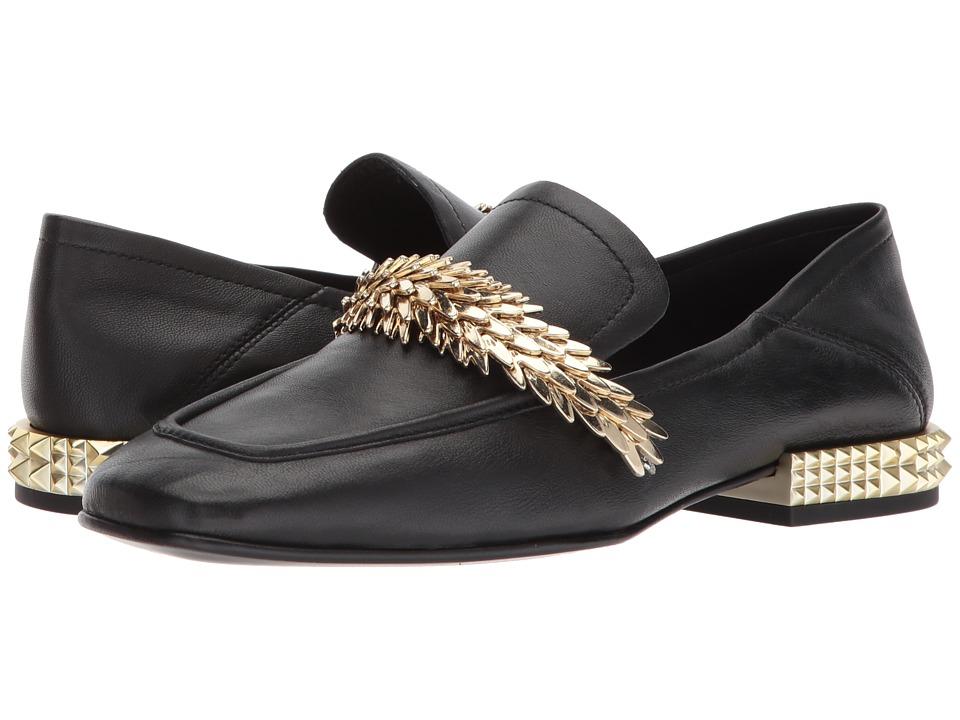 ASH Edgy Loafer (Black Glove) Women