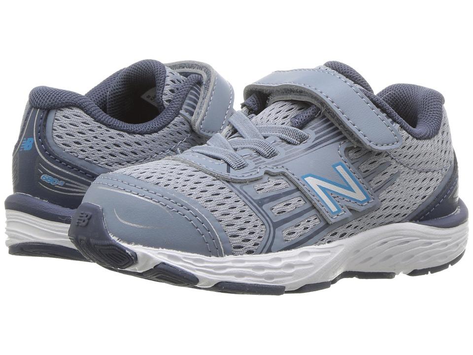New Balance Kids - KA680v5I (Infant/Toddler) (Reflections/Maldives Blue) Boys Shoes