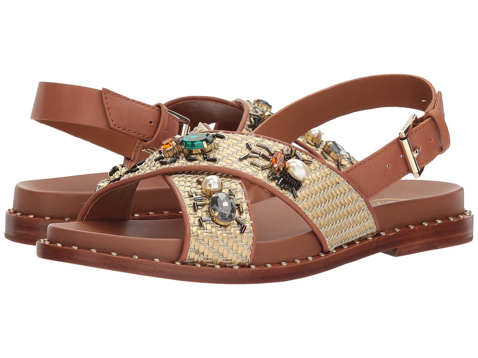 ASH - Maya (Natural/Tan Woven/Soft Brasil) Women's Sandals