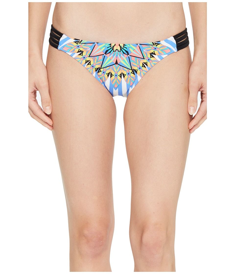 Body Glove Look At Me Flirty Surfrider Bottoms (Multi)