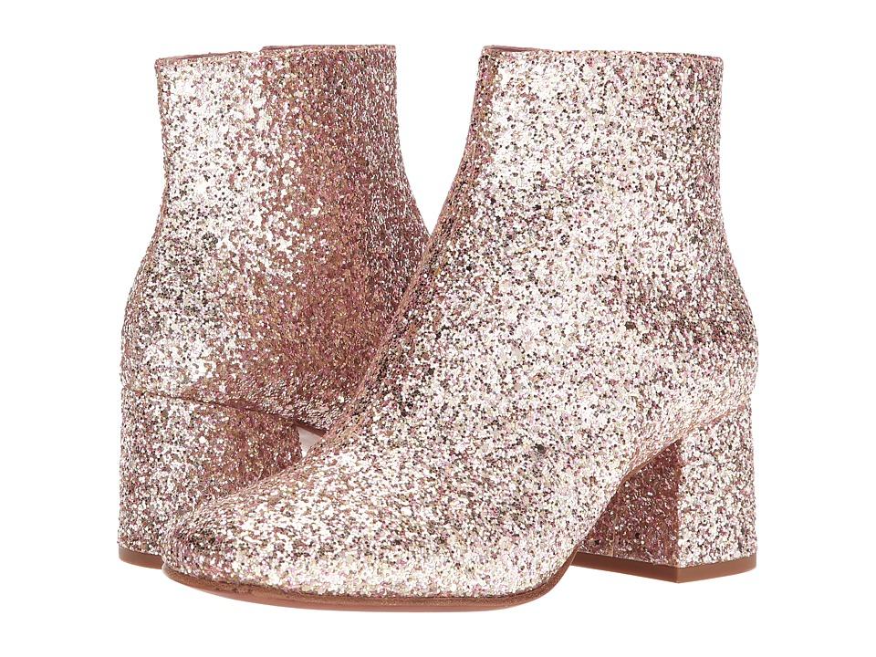 Retro Boots, Granny Boots, 70s Boots ASH - Electra Bis Blush Glitter Womens Dress Boots $198.00 AT vintagedancer.com