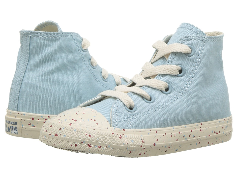 Converse Kids - Chuck Taylor(r) All Star(r) Speckled Americana Hi (Infant/Toddler) (Ocean Bliss/Driftwood/Enamel Red) Kids Shoes