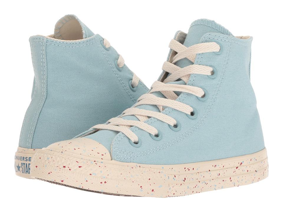 Converse Kids Chuck Taylor(r) All Star(r) Speckled Americana Hi (Little Kid/Big Kid) (Ocean Bliss/Driftwood/Enamel Red) Kids Shoes