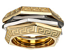 Versace Tricolor Ring