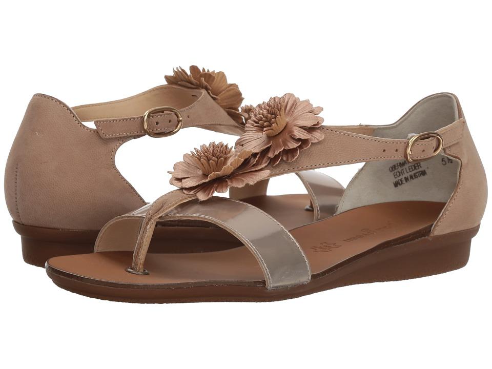 Paul Green Sunny Flat (Champagne Techno Soft Nubuck) Women's Dress Flat Shoes
