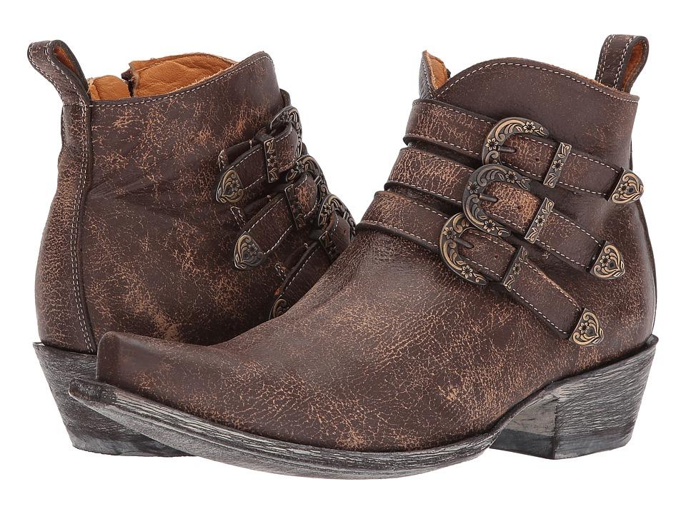 Old Gringo Montija (Brown) Cowboy Boots
