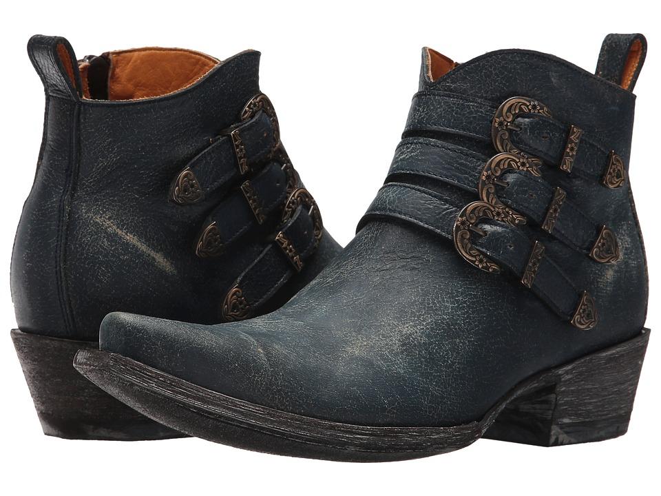 Old Gringo Montija (Blue) Cowboy Boots