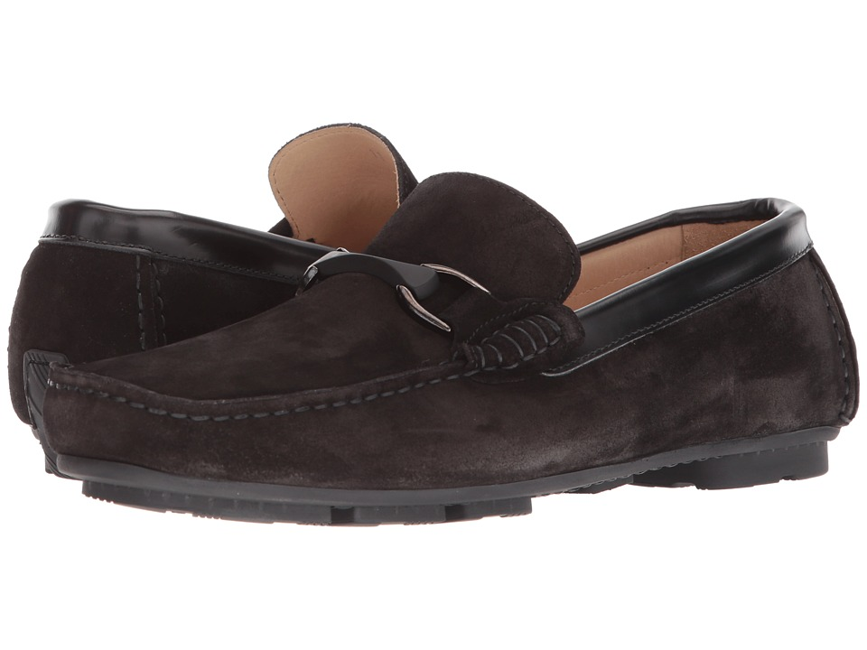 BUGATCHI - Luca Moccasin (Nero) Mens Shoes