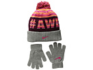 Nike Kids Attitude Knit Beanie Gloves Set (Little Kids/Big Kids)