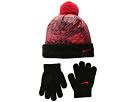 Nike Kids Graphic Pom Beanie Gloves Set (Little Kids)