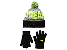 Nike Kids Attitude Knit Beanie Gloves Set (Big Kids)