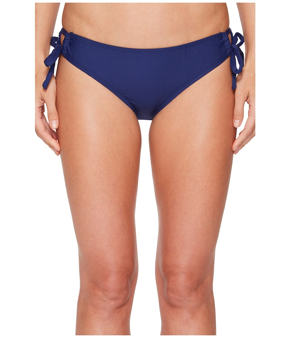 Next by Athena Good Karma Tubular Tunnel Bikini Bottom (Navy) Women