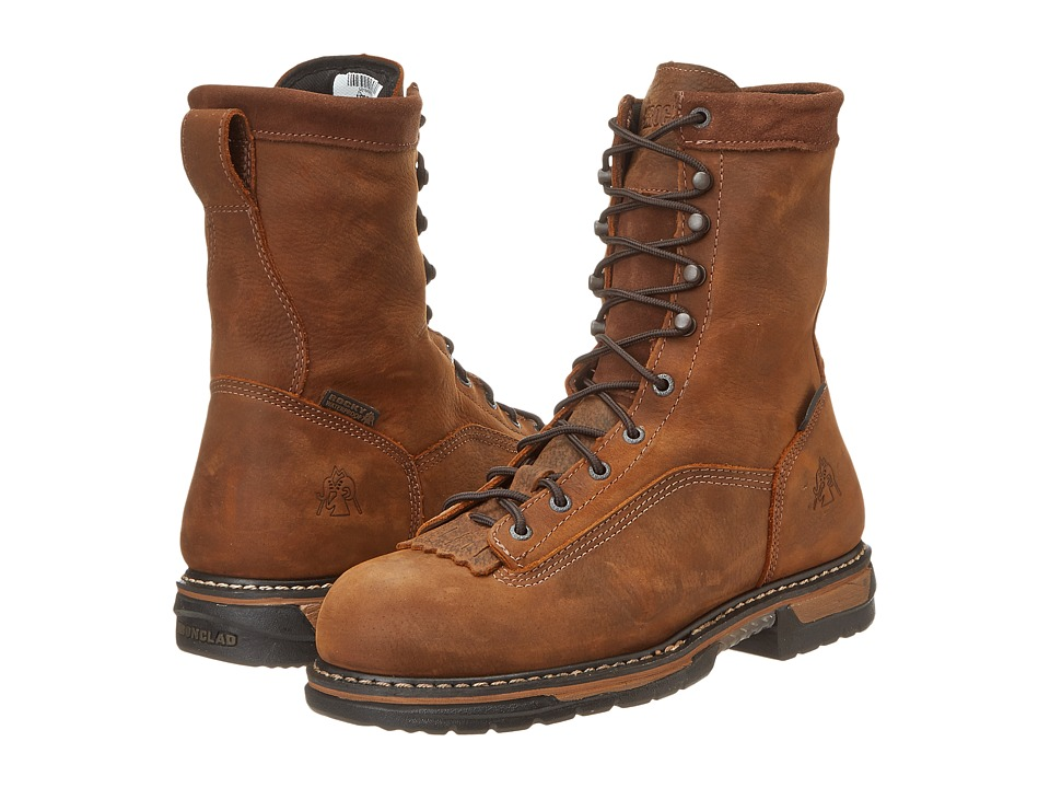 Rocky 8 Ironclad Steel Toe WP EH (Brown) Men's Shoes