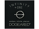 Dogeared Infinity + One, Halo w/ Crystal Ring