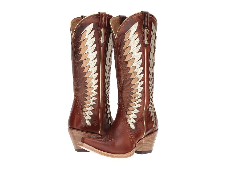 Ariat Goldcrest (Cowboy Cognac) Cowboy Boots