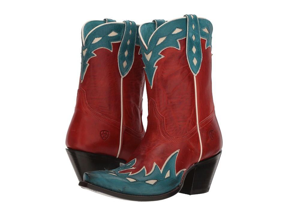Ariat Juanita (Heart Throb Red) Cowboy Boots