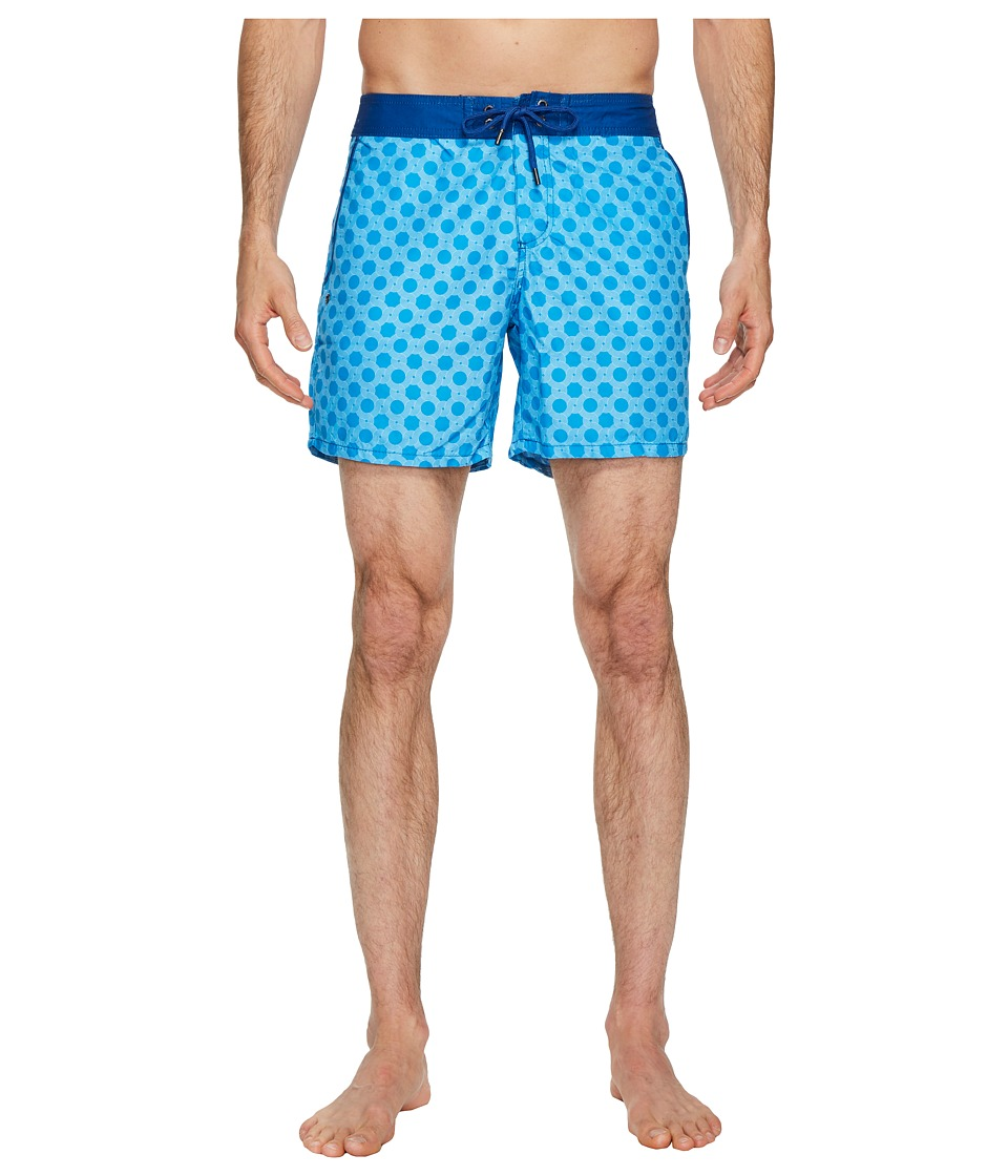 Mr. Swim Figure 8 Chuck Swim Trunks (Light Blue) Men
