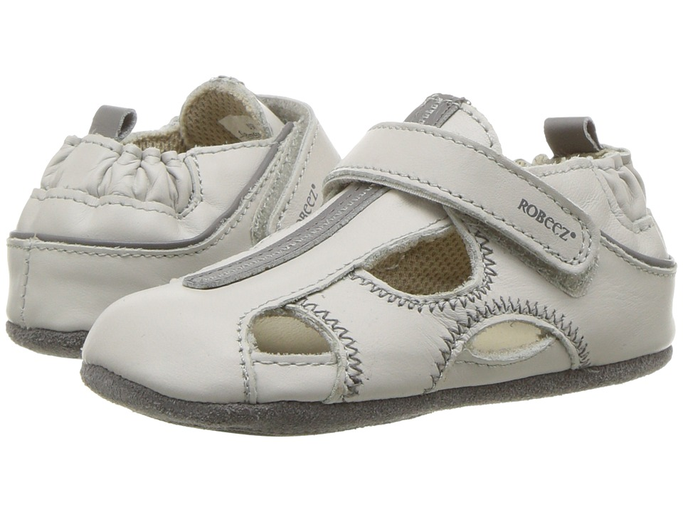Robeez - Rugged Rob Mini Shoez (Infant/Toddler) (Light Grey) Boys Shoes