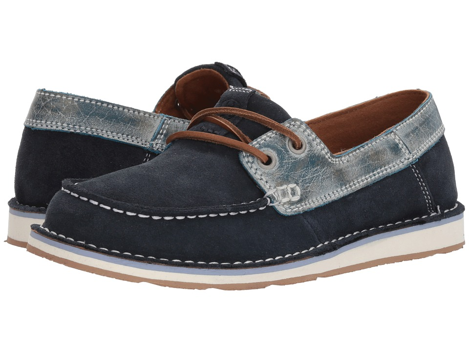 Ariat Cruiser Castaway (Navy/Ice Blue) Slip-On Shoes