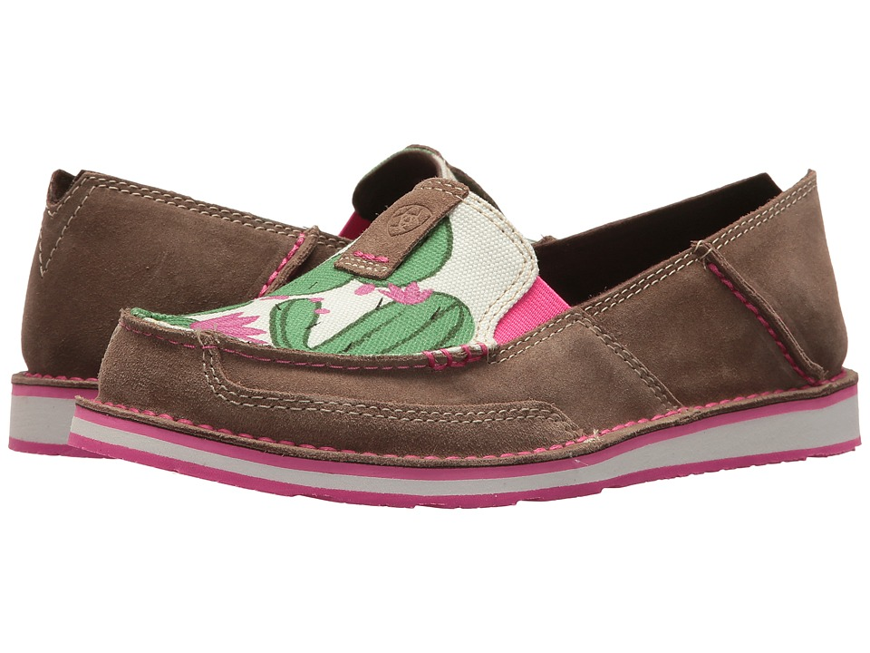 Ariat Cruiser (Relaxed Bark/Cactus Print) Slip-On Shoes