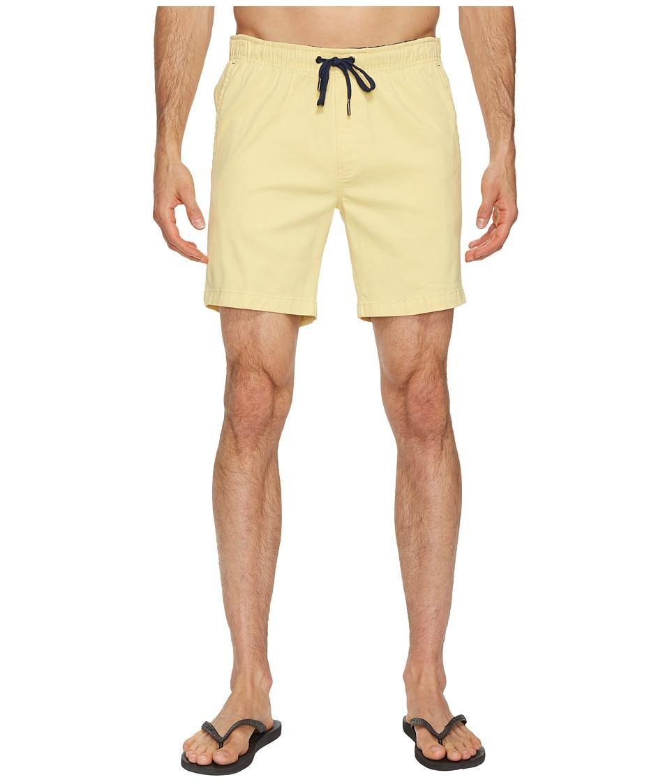 Mr. Swim Chino Elastic Shorts (Yellow) Men