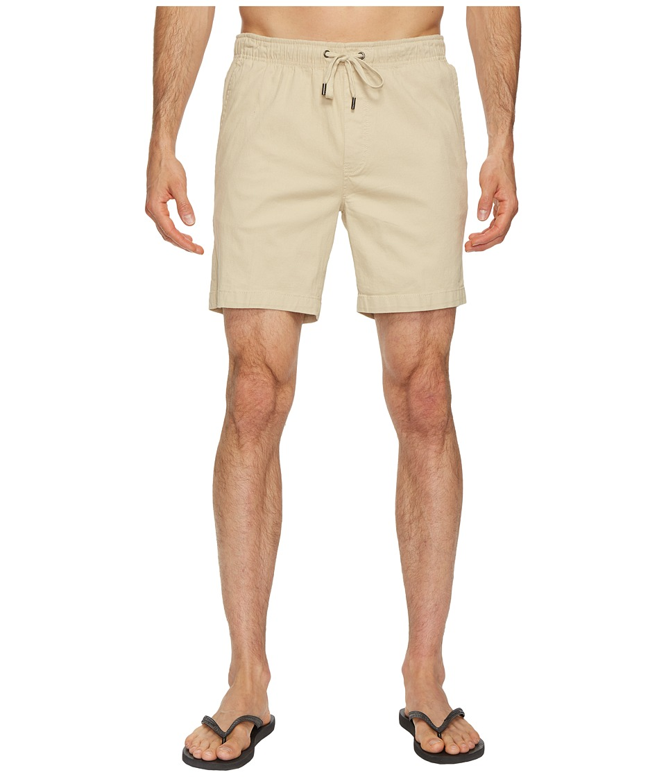 Mr. Swim Chino Elastic Shorts (Light Khaki) Men