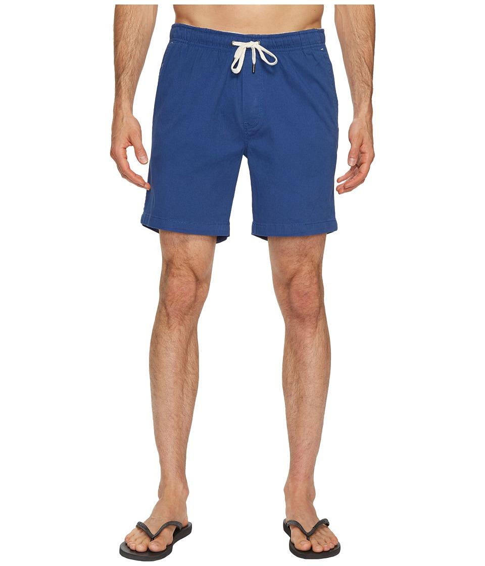 Mr. Swim Chino Elastic Shorts (Blue) Men