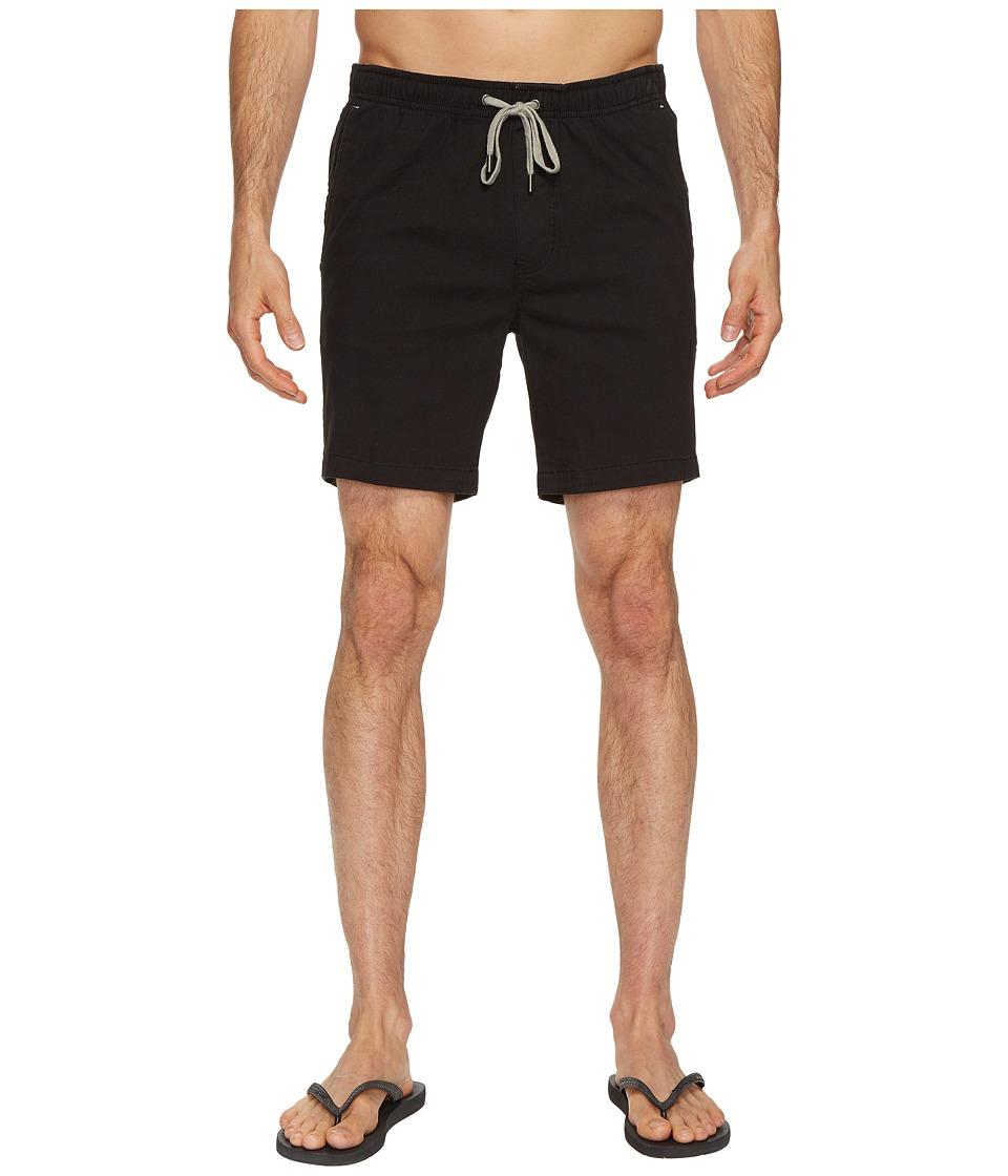 Mr. Swim Chino Elastic Shorts (Jet Black) Men
