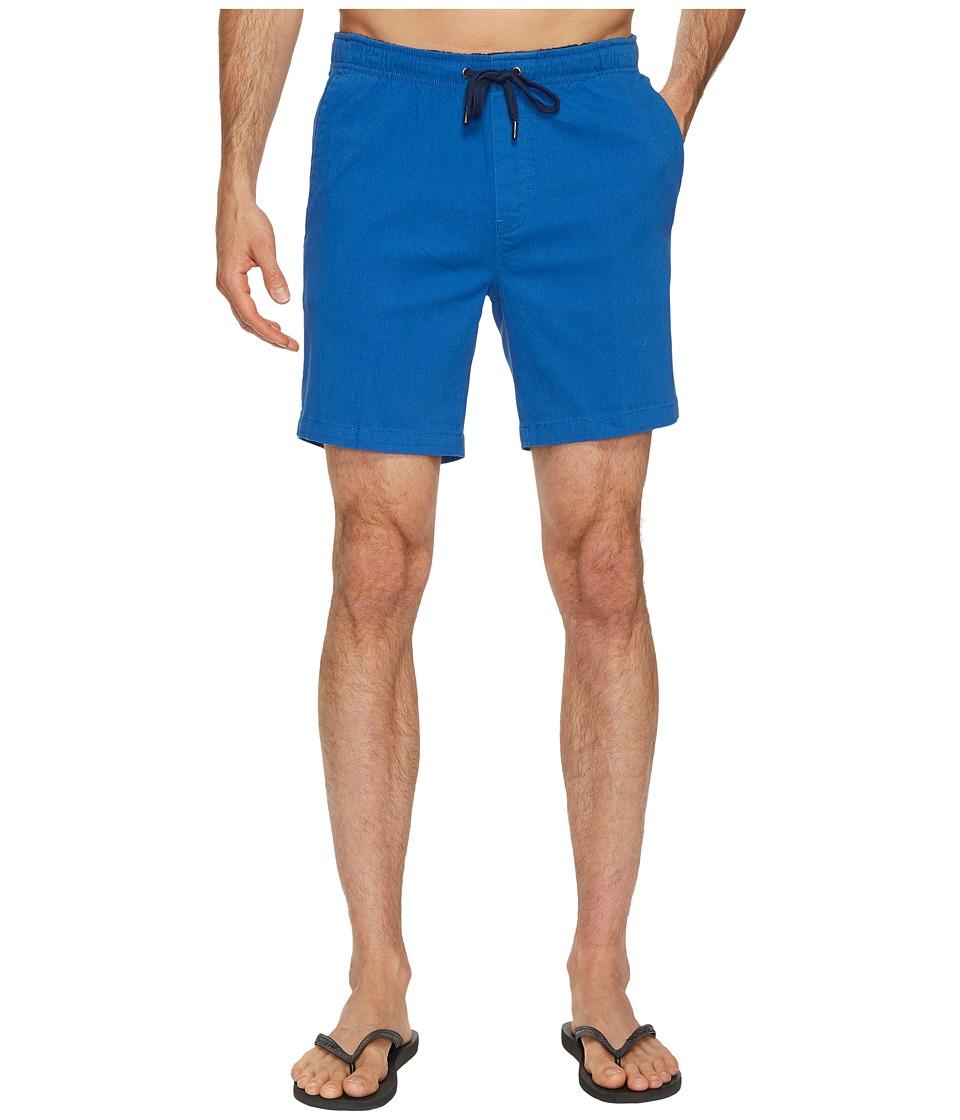 Mr. Swim Chino Elastic Shorts (Light Royal) Men