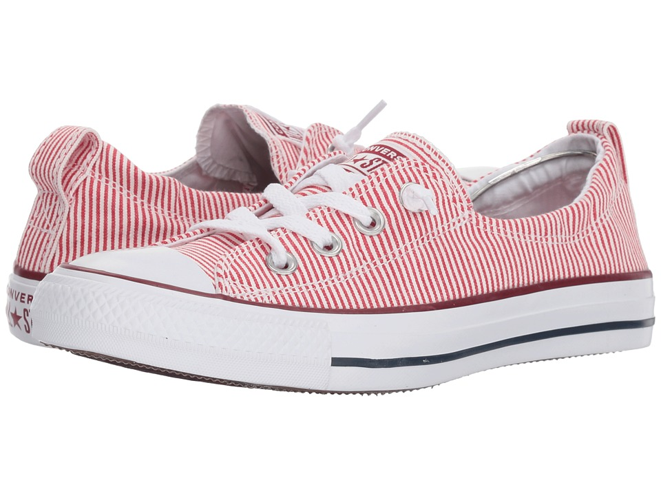 Converse - Chuck Taylor All Star Shoreline (Gym Red/White) Womens Lace up casual Shoes