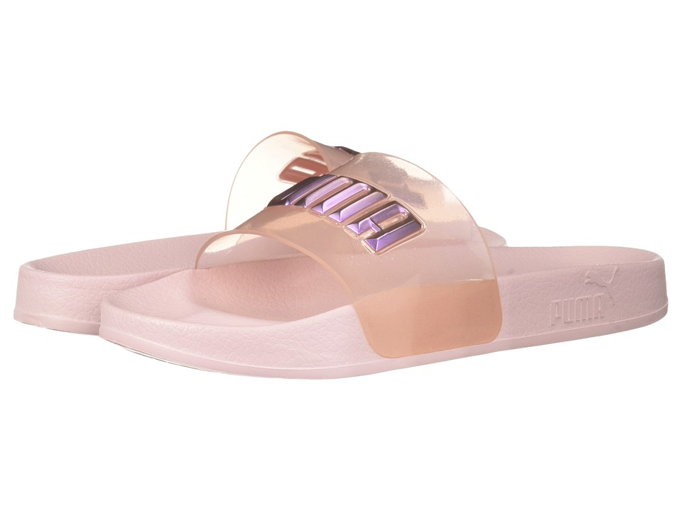 PUMA - PUMA x Sophia Webster Leadcat Glitter Princess Slide (Barely Pink/Orchid Bouquet) Womens Lace up casual Shoes
