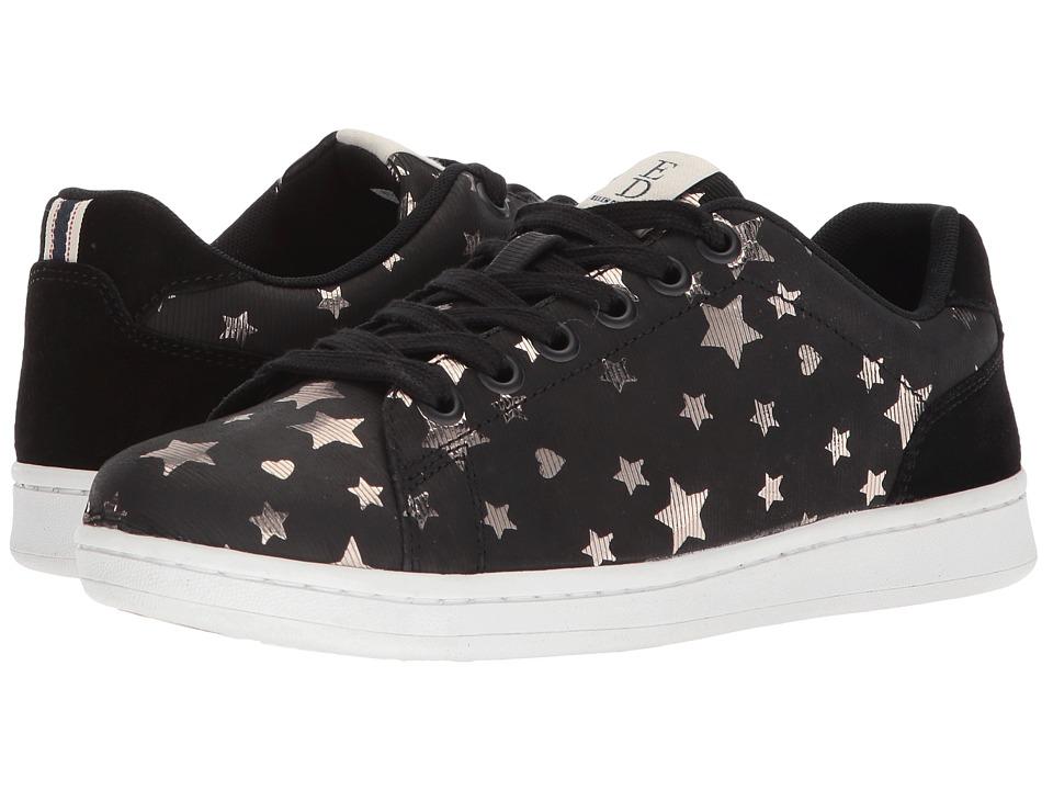 ED Ellen DeGeneres Chapastar (Black/Gold Stars Millierge Star/Millierge Star) Women's Shoes