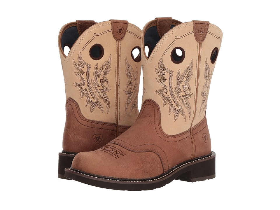 Ariat Fatbaby Heritage Cowgirl (Tan/Sand) Cowboy Boots